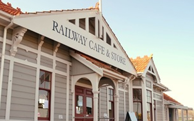 cafe store blenheim - Railway Cafe Store in Blenheim.