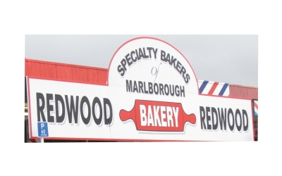 Bakery Products Supplies Blenheim - Redwood Bakery Ltd in Blenheim.